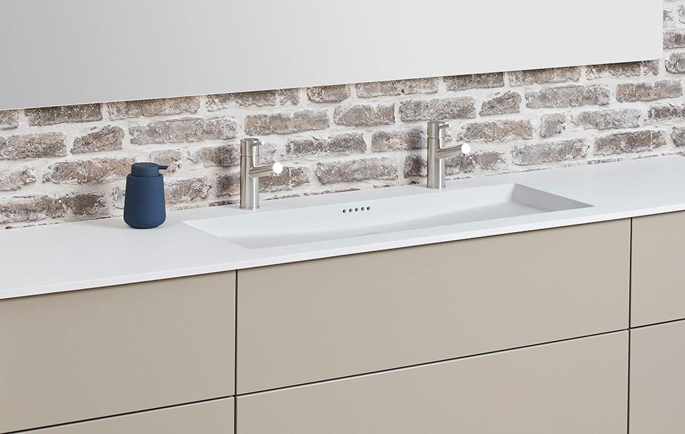 Nyt badeværelse på gamle elementer